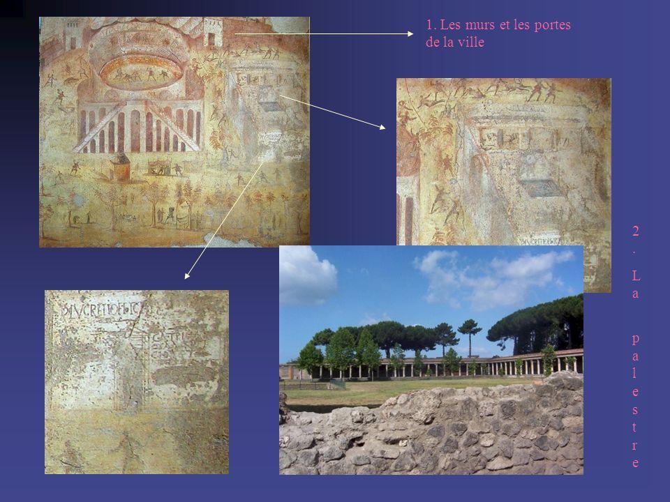 1. Les murs et les portes de la ville