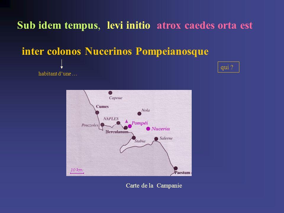 inter colonos Nucerinos Pompeianosque