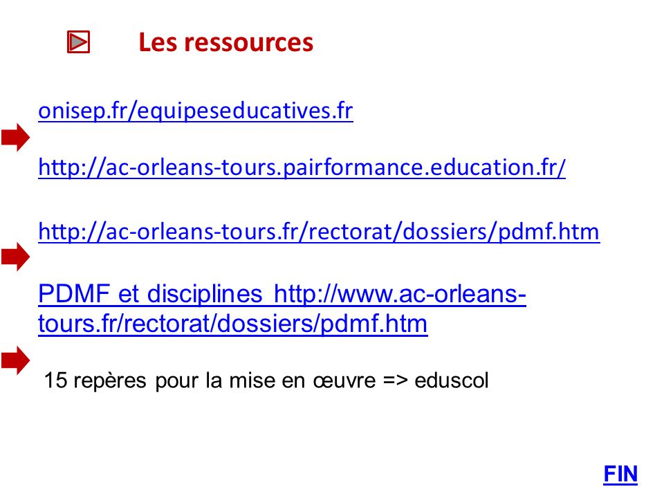 Les ressources onisep.fr/equipeseducatives.fr