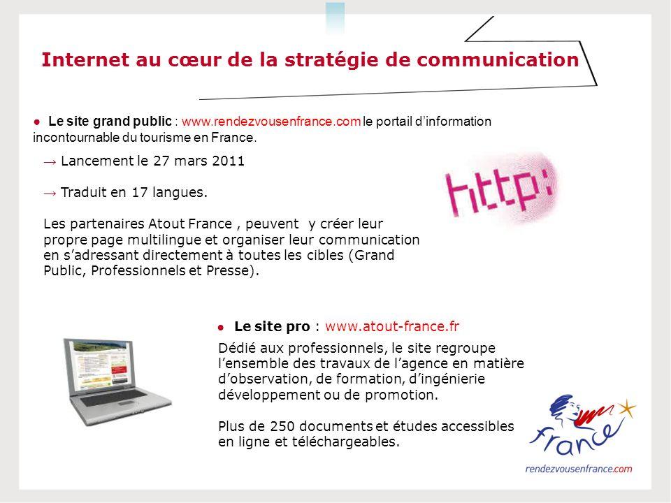 Internet au cœur de la stratégie de communication