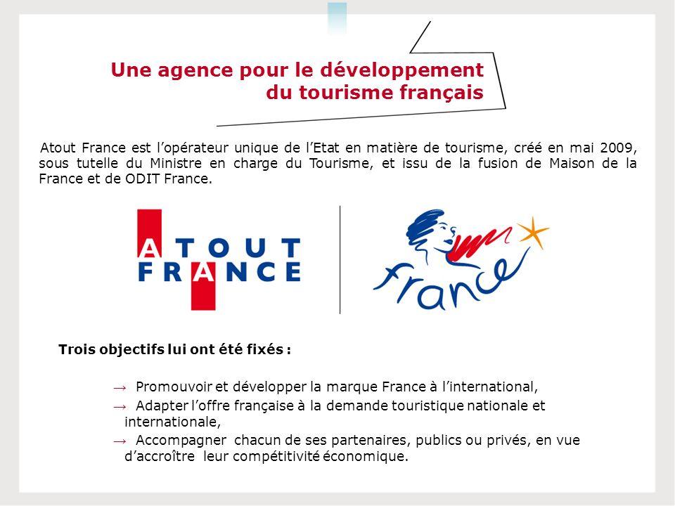 Une agence pour le développement du tourisme français