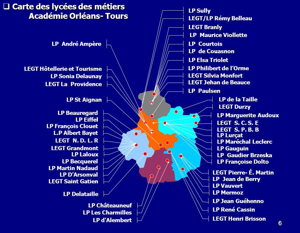 Académie Orléans- Tours