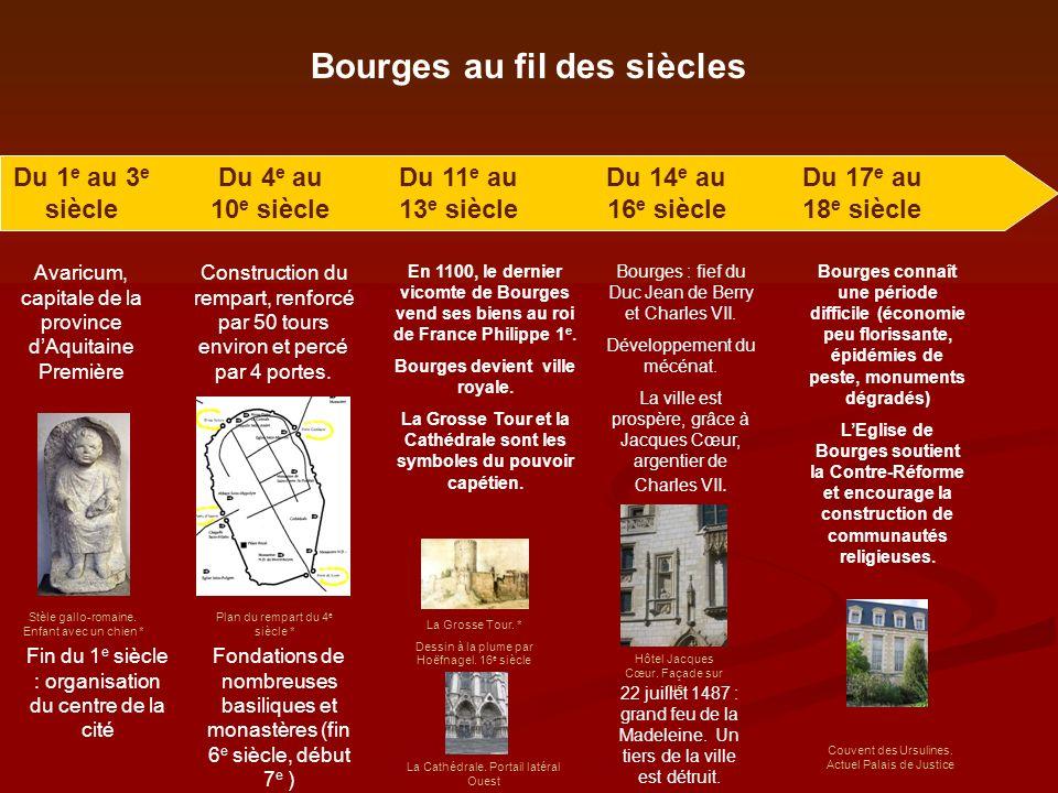 Bourges au fil des siècles