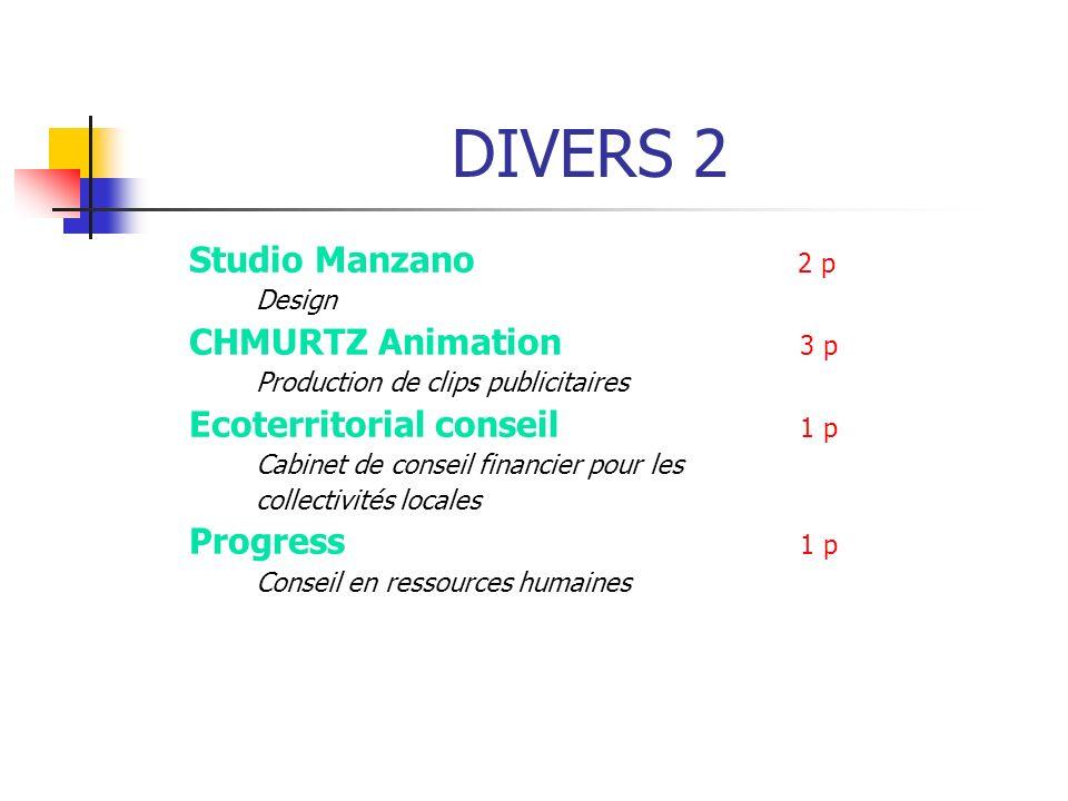 DIVERS 2 Studio Manzano 2 p Design CHMURTZ Animation 3 p