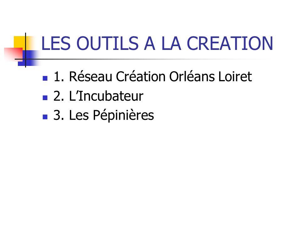 LES OUTILS A LA CREATION