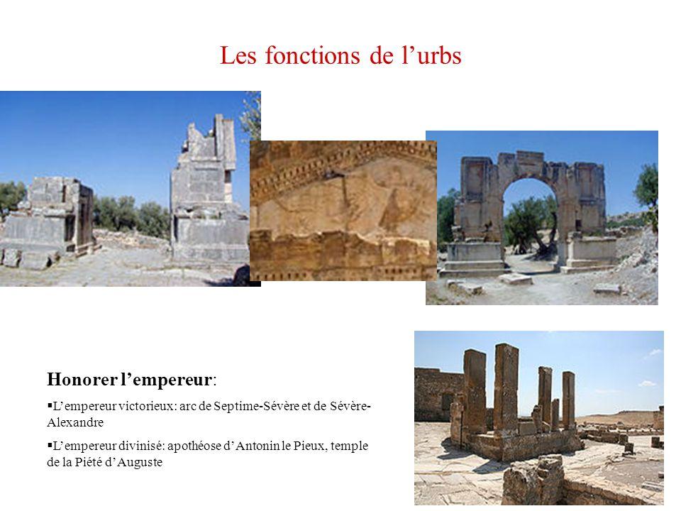 Les fonctions de l'urbs