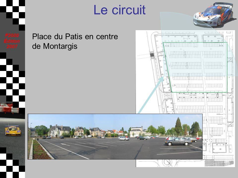 Place du Patis en centre de Montargis