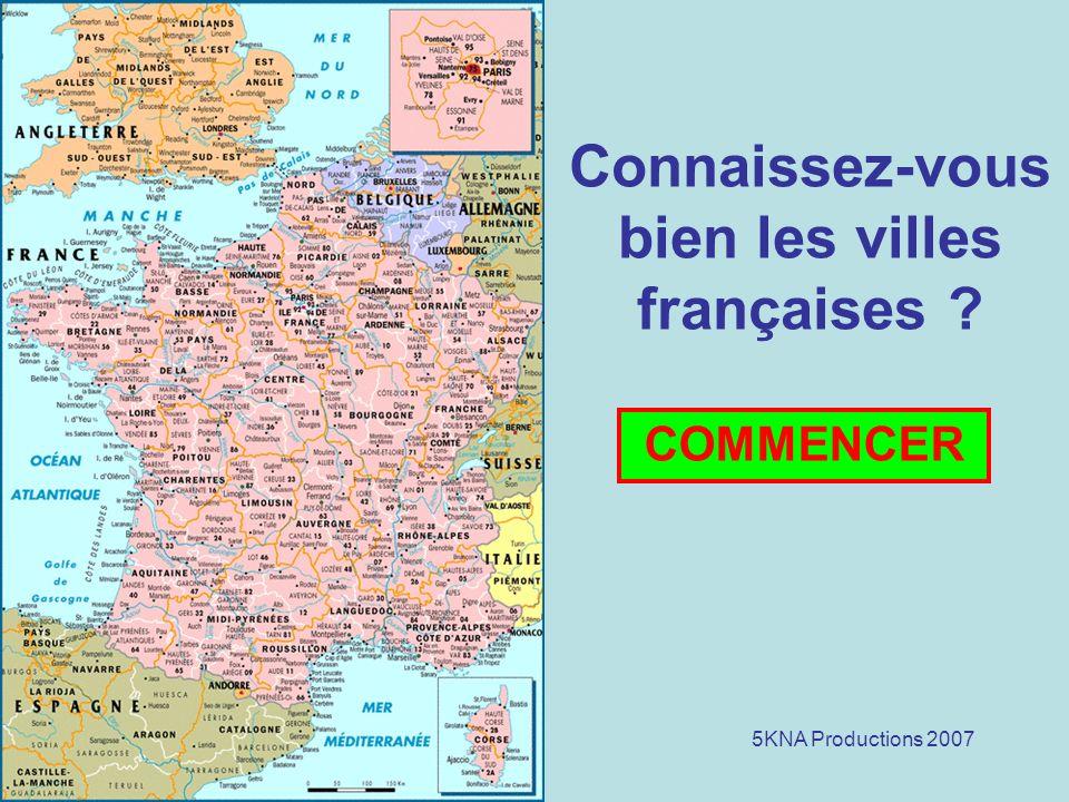 Connaissez-vous bien les villes françaises