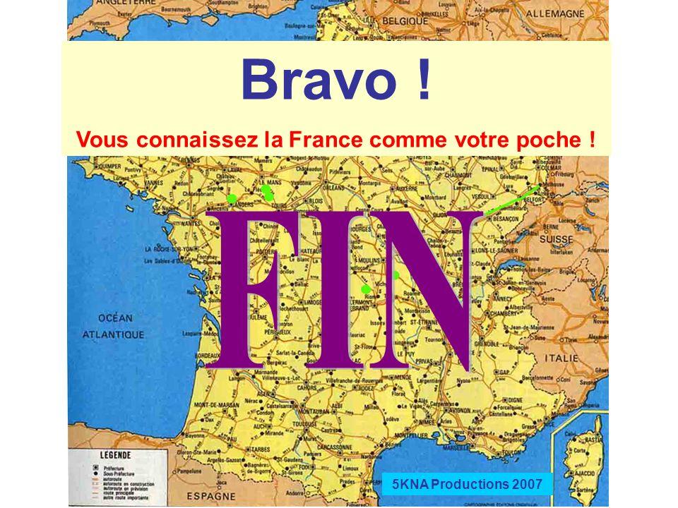 Vous connaissez la France comme votre poche !