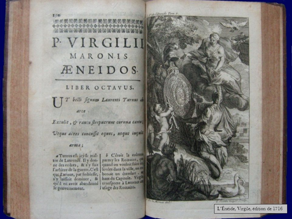 L'Énéide, Virgile, édition de 1716