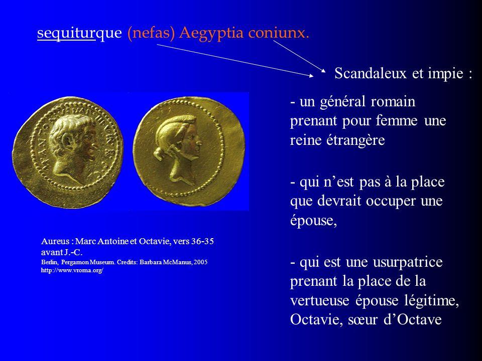 sequiturque (nefas) Aegyptia coniunx.