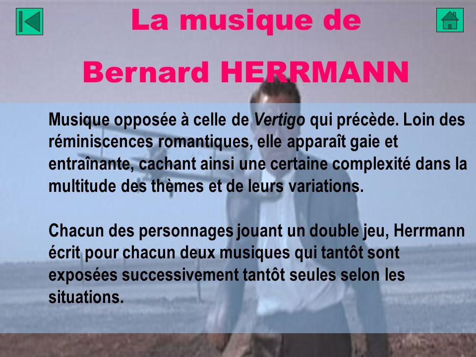 La musique de Bernard HERRMANN