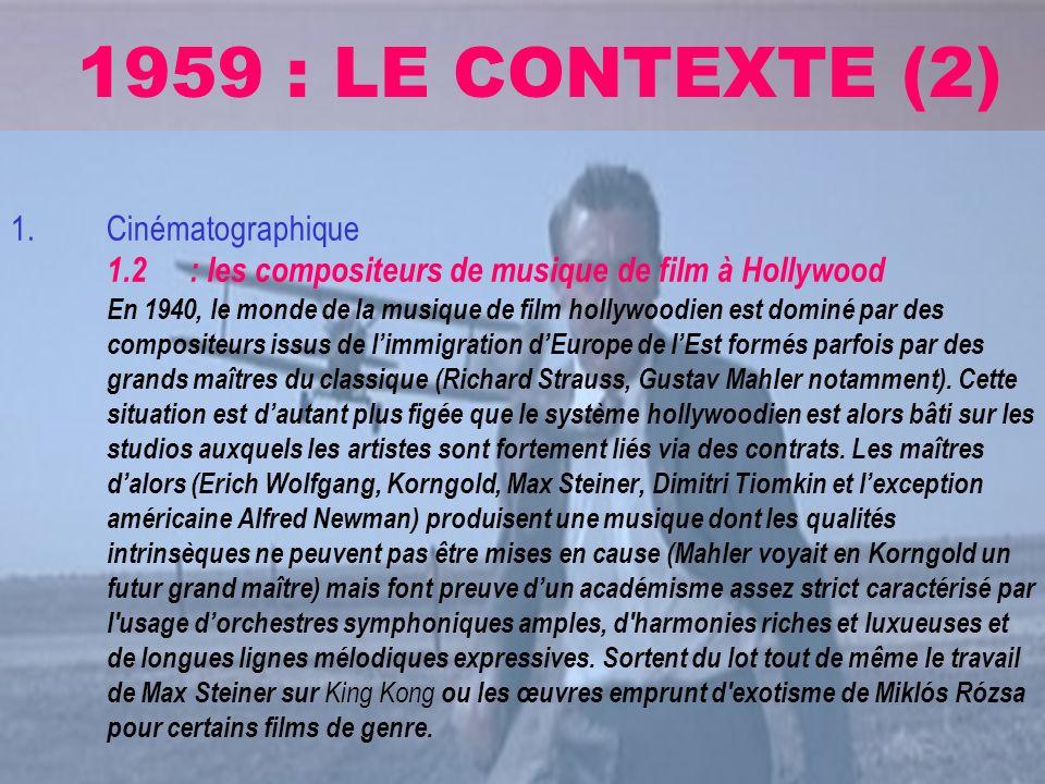1959 : LE CONTEXTE (2)