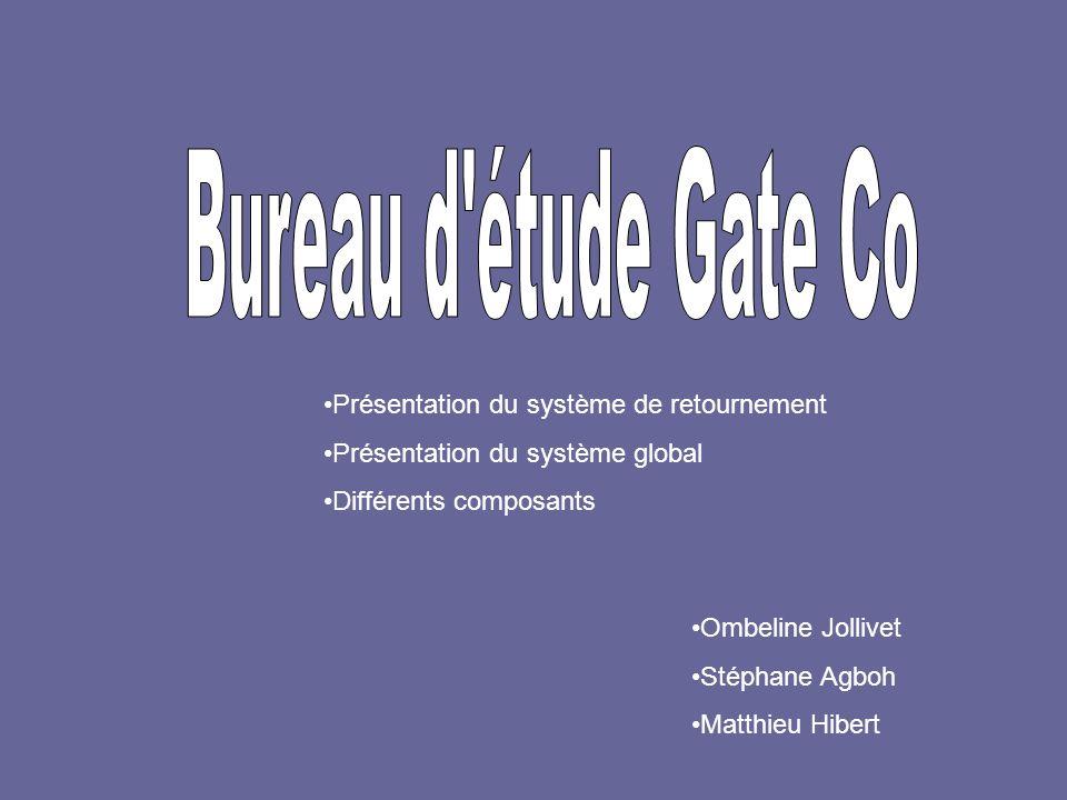 Bureau d étude Gate Co Présentation du système de retournement