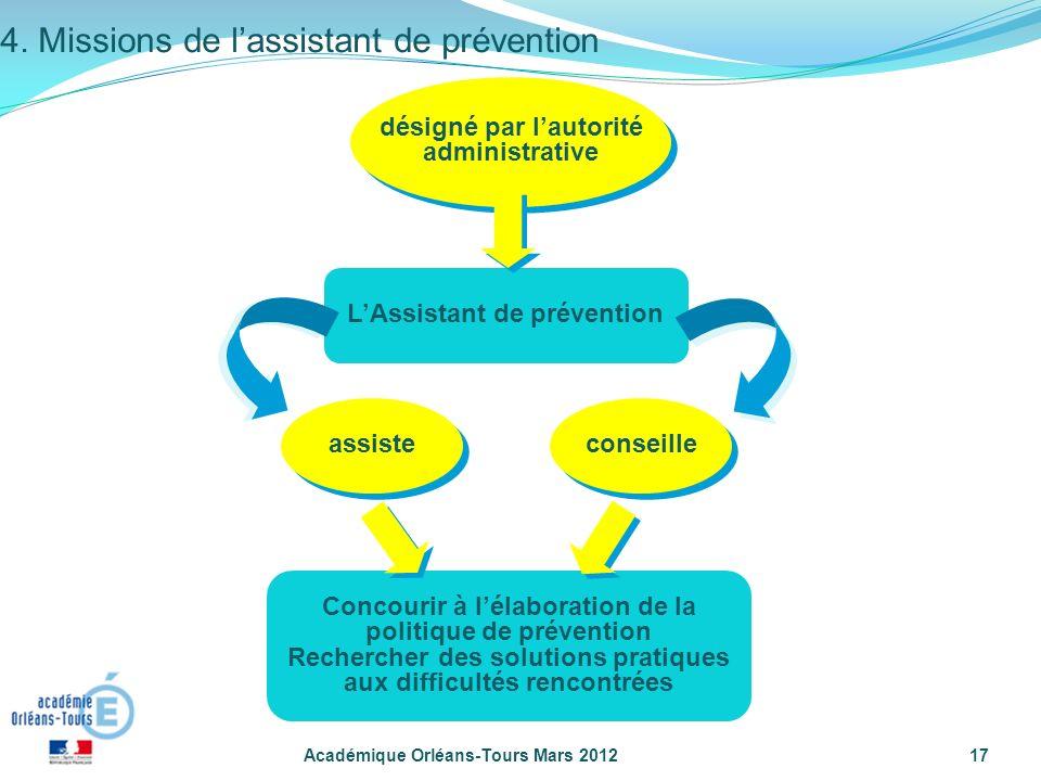 4. Missions de l'assistant de prévention