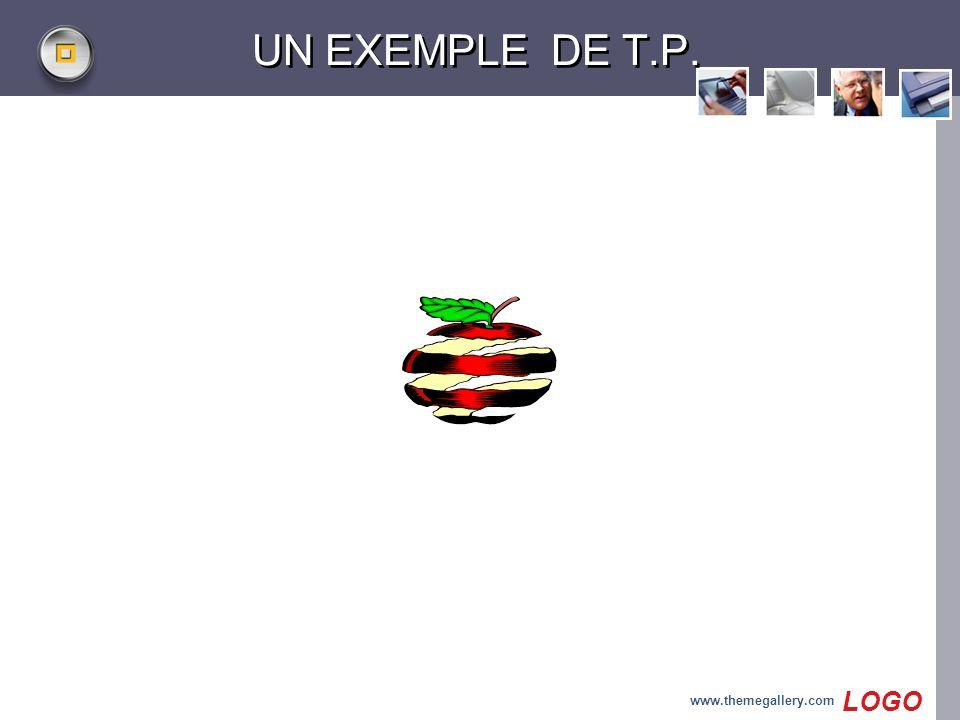 UN EXEMPLE DE T.P. www.themegallery.com