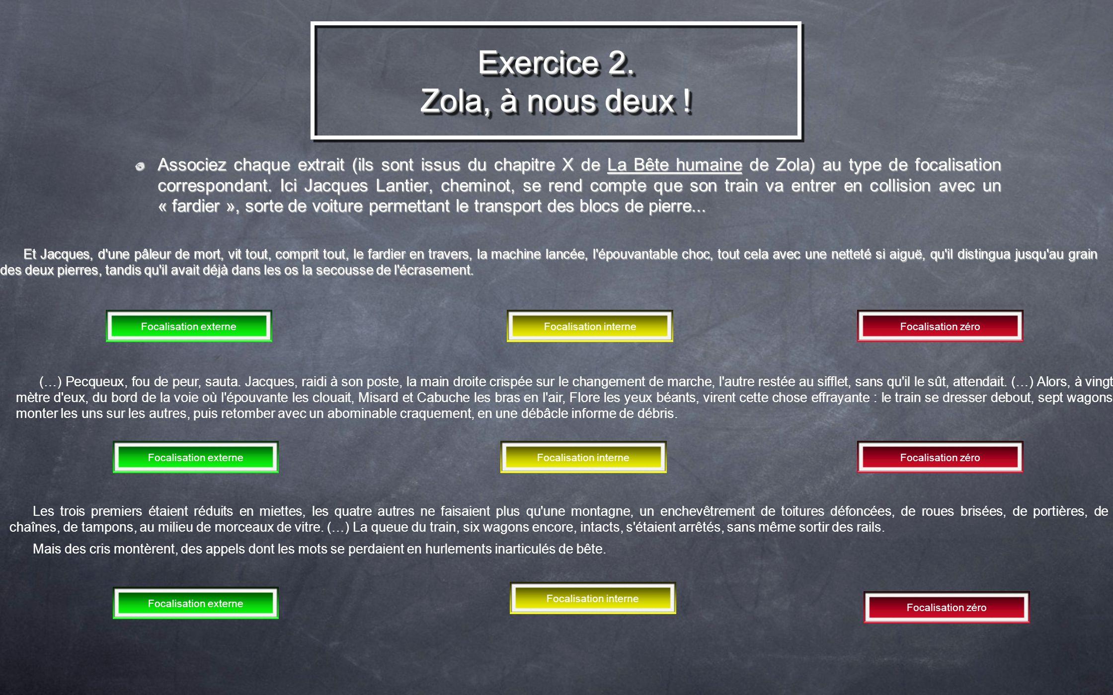 Exercice 2. Zola, à nous deux !