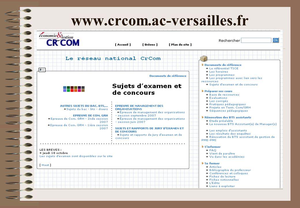 www.crcom.ac-versailles.fr