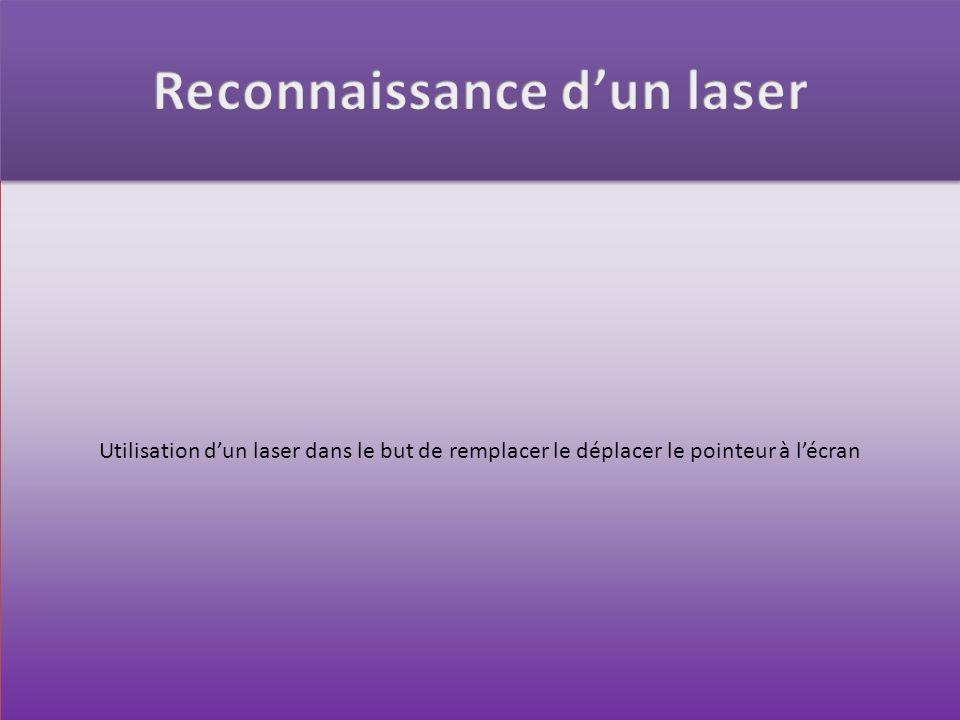 Reconnaissance d'un laser