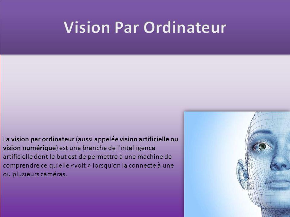Vision Par Ordinateur