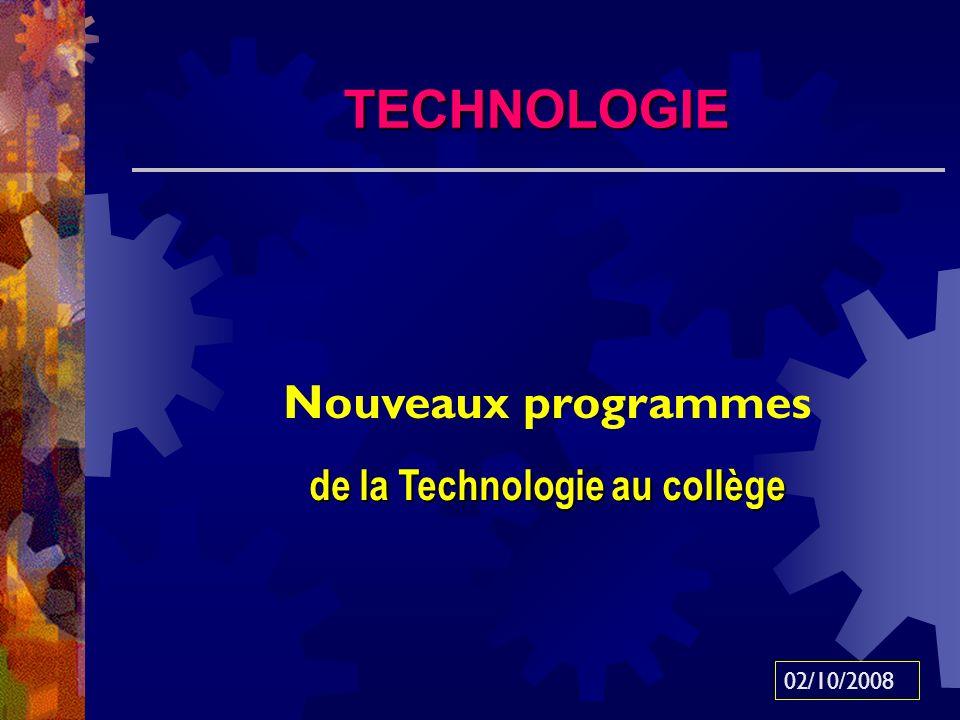 de la Technologie au collège