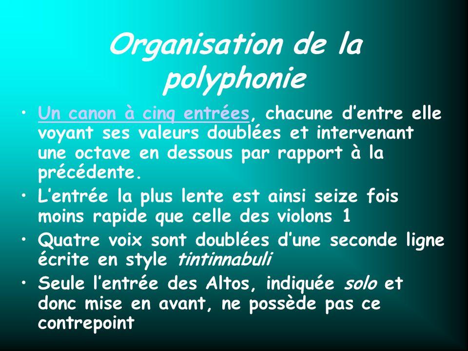Organisation de la polyphonie