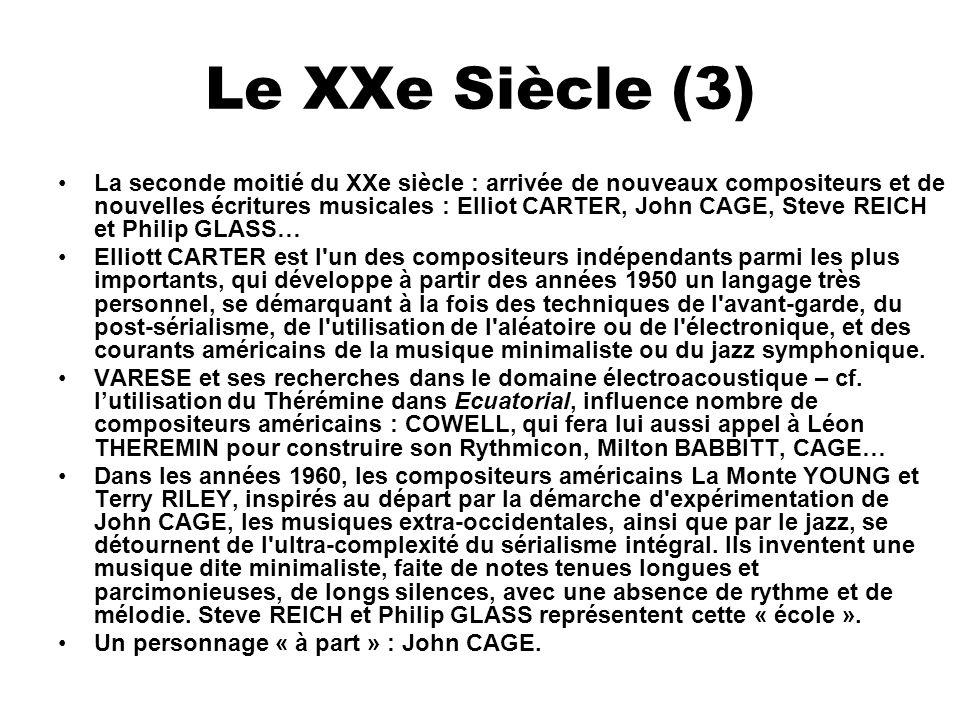 Le XXe Siècle (3)