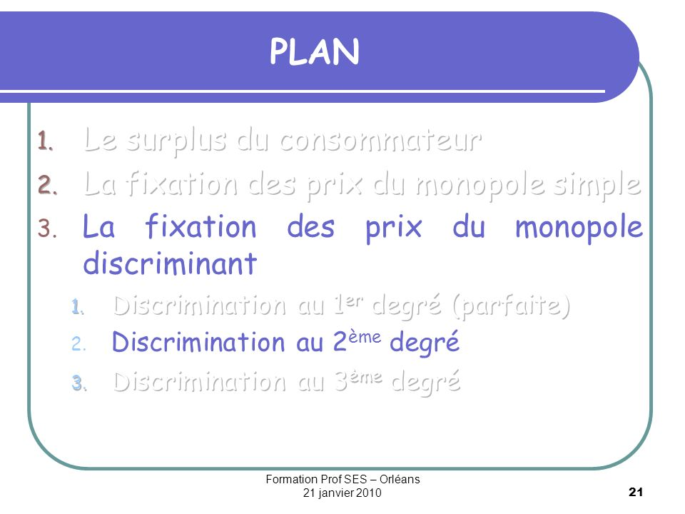 Formation Prof SES – Orléans