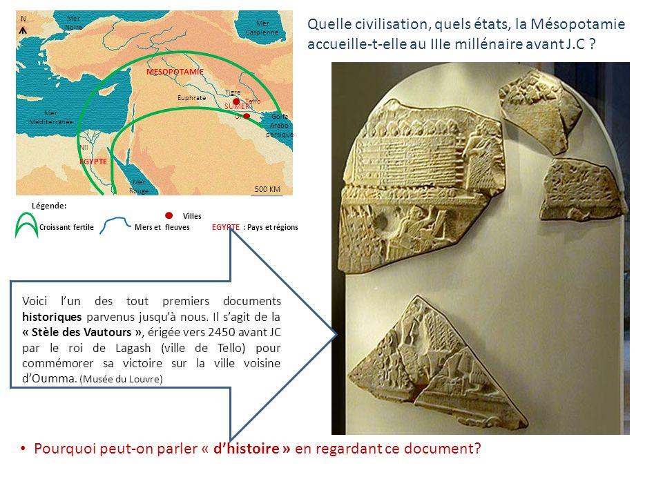 Pourquoi peut-on parler « d'histoire » en regardant ce document
