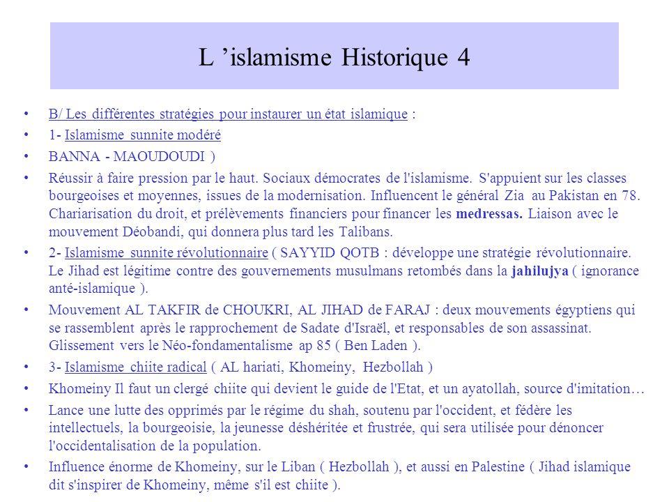 L 'islamisme Historique 4