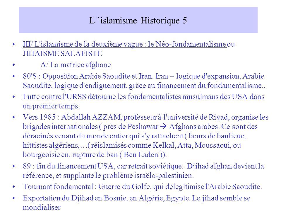 L 'islamisme Historique 5