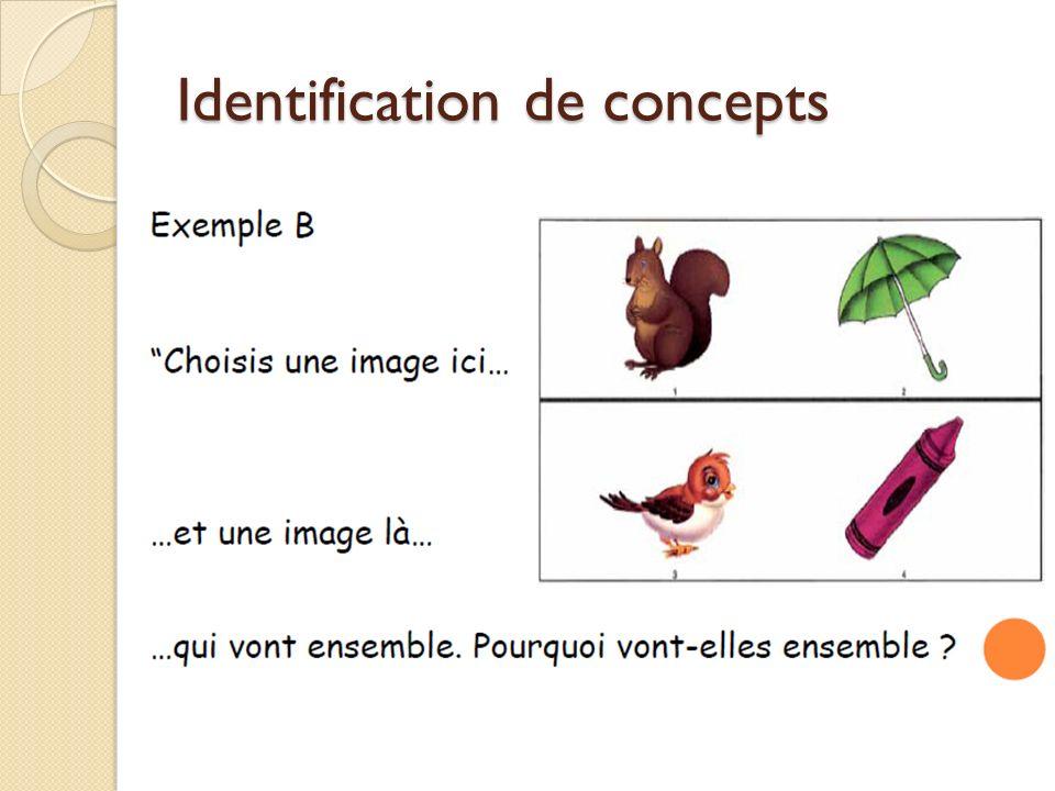Identification de concepts
