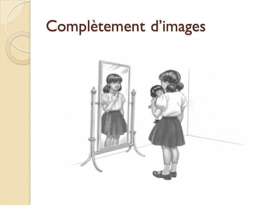 Complètement d'images