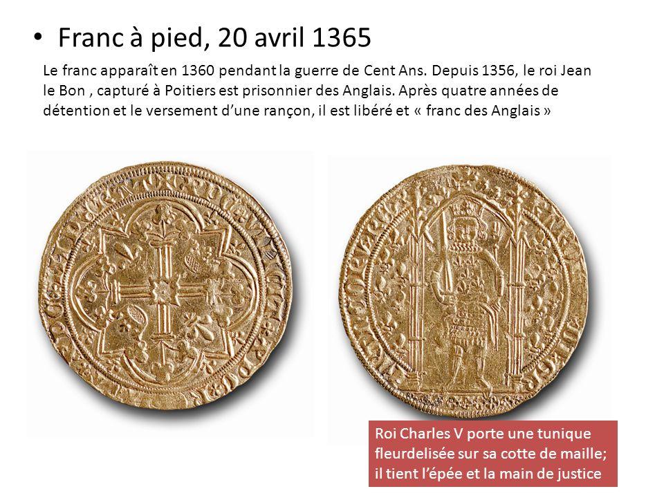 Franc à pied, 20 avril 1365