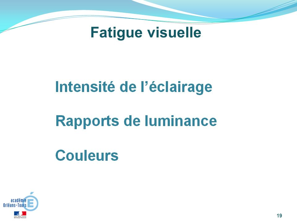 Fatigue visuelle