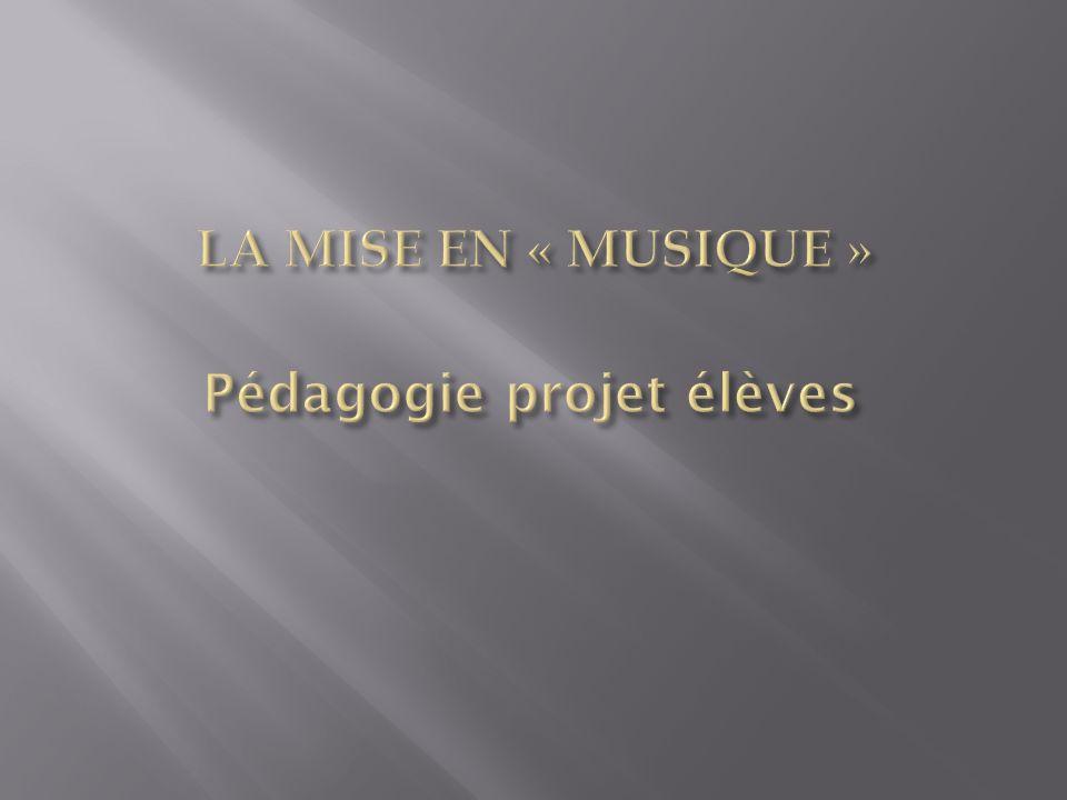 Pédagogie projet élèves