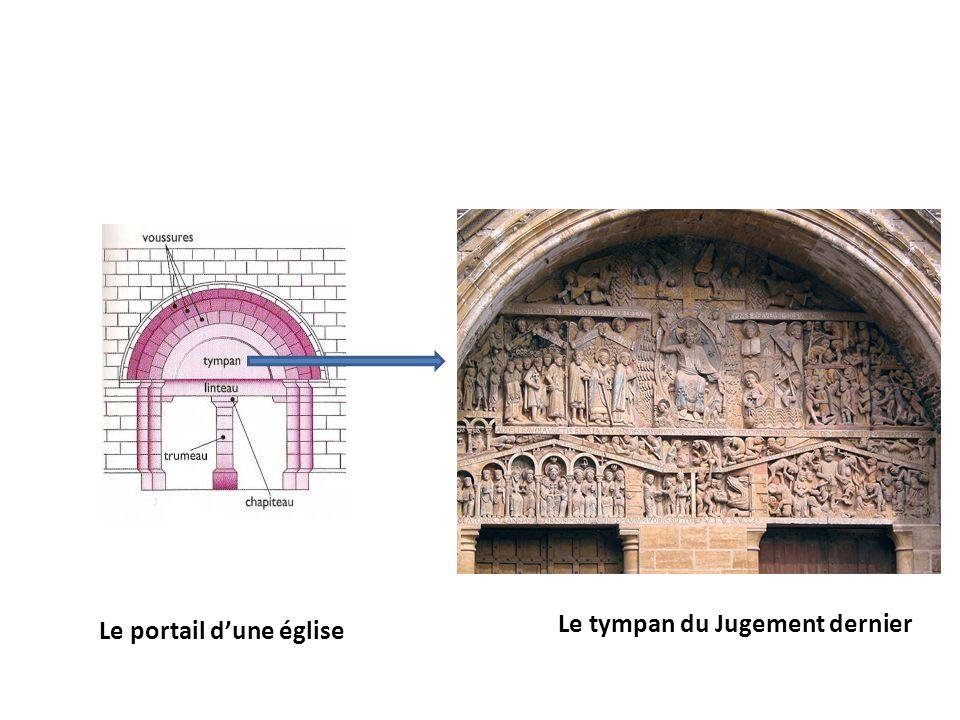 Le portail d'une église