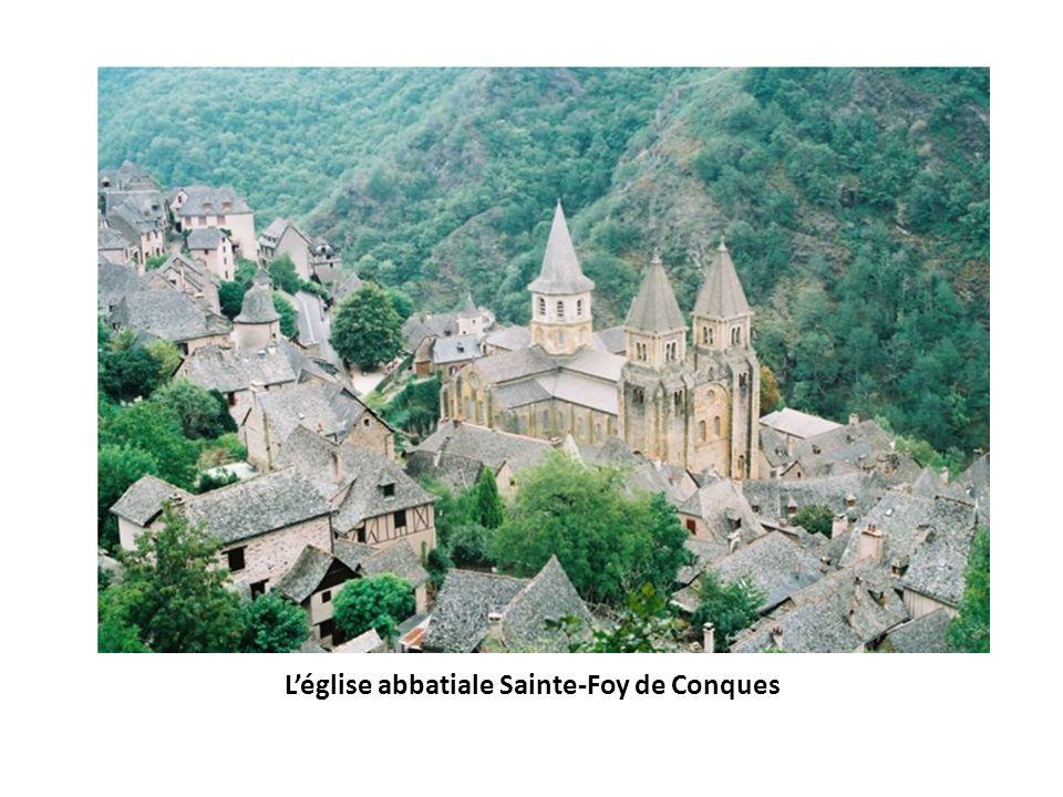 L'église abbatiale Sainte-Foy de Conques