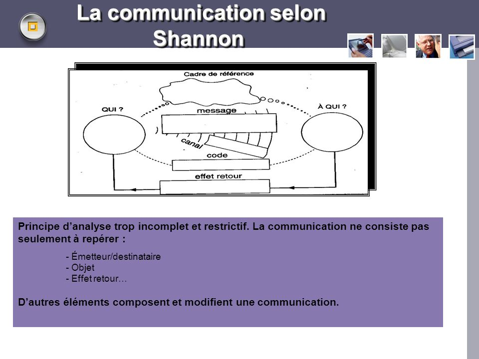 La communication selon Shannon