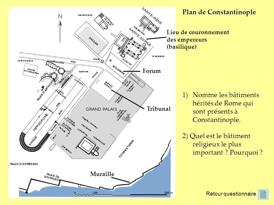 Plan de Constantinople