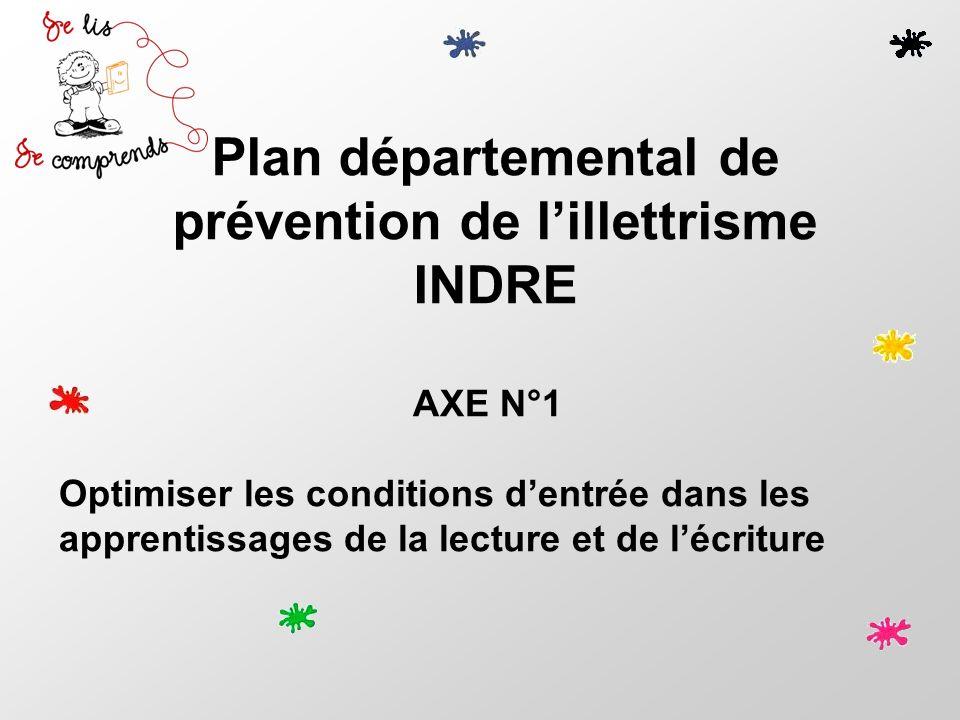 Plan départemental de prévention de l'illettrisme
