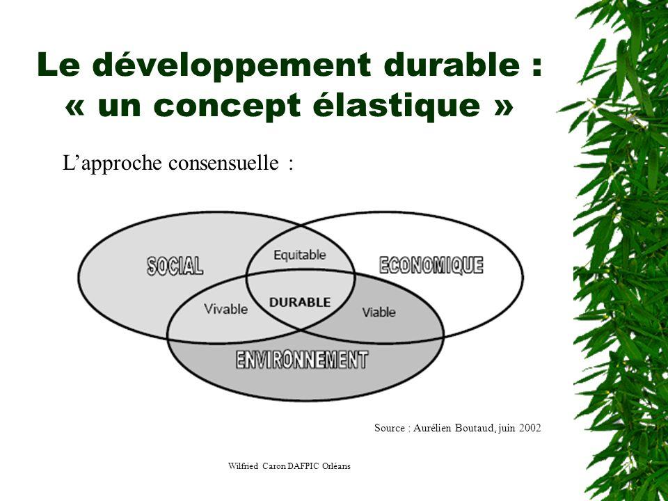 Le développement durable : « un concept élastique »