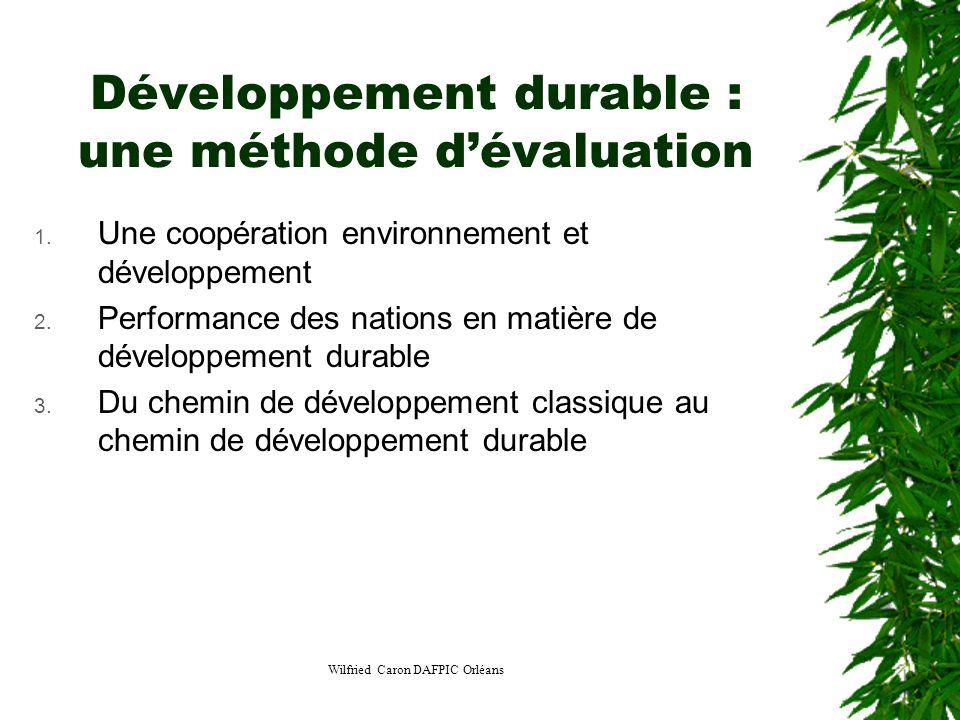 Développement durable : une méthode d'évaluation