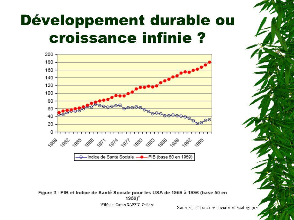 Développement durable ou croissance infinie