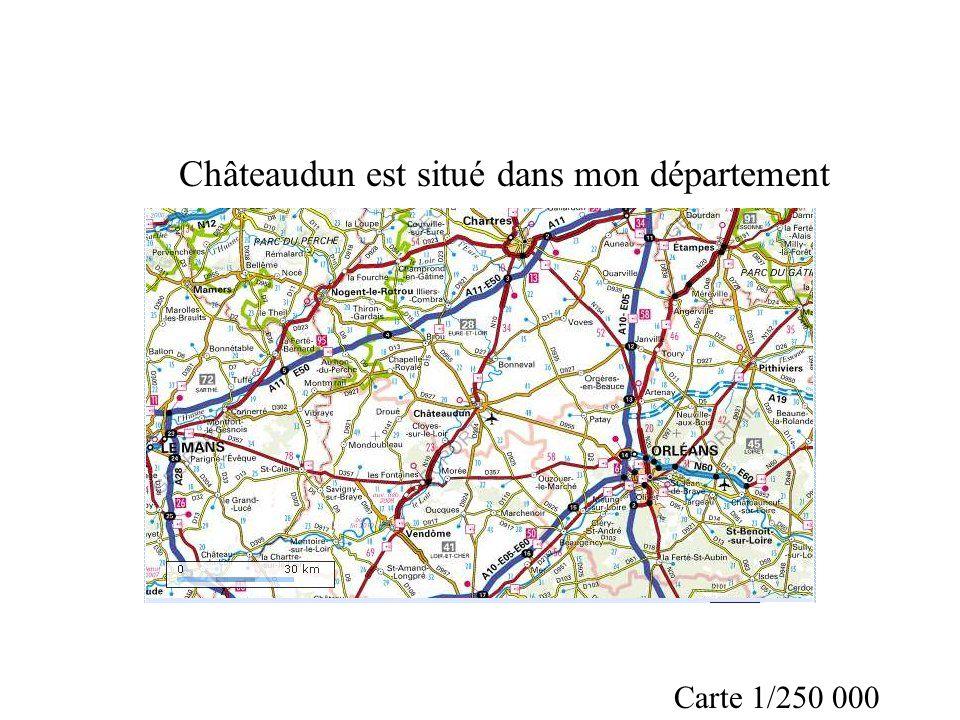 Châteaudun est situé dans mon département
