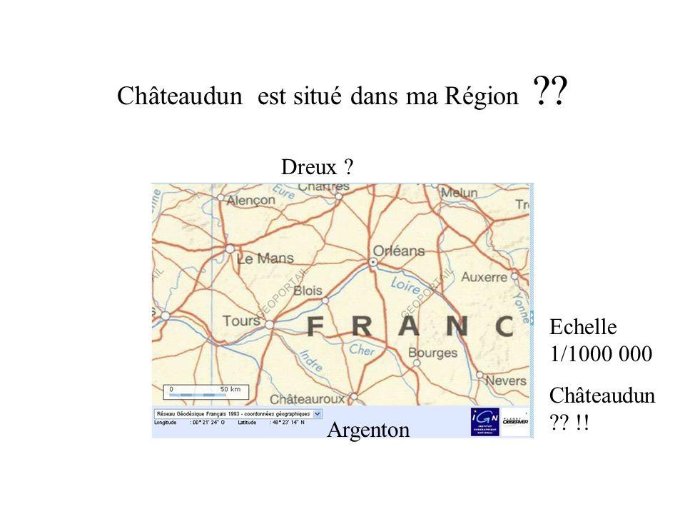 Châteaudun est situé dans ma Région