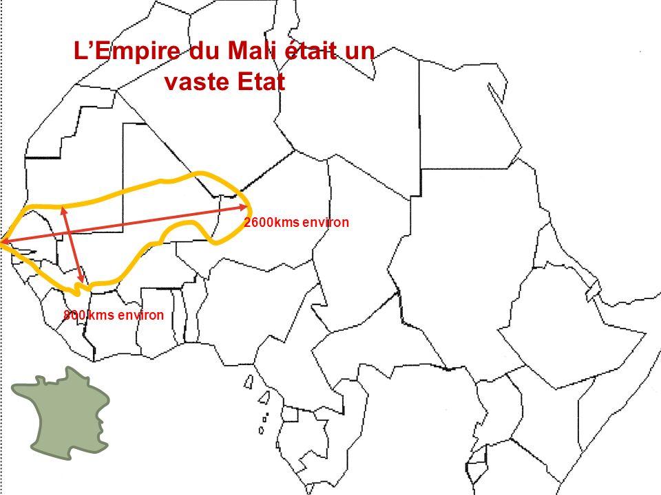 L'Empire du Mali était un vaste Etat