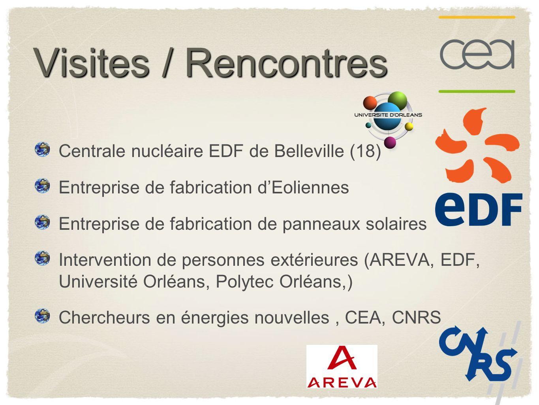 Visites / Rencontres Centrale nucléaire EDF de Belleville (18)