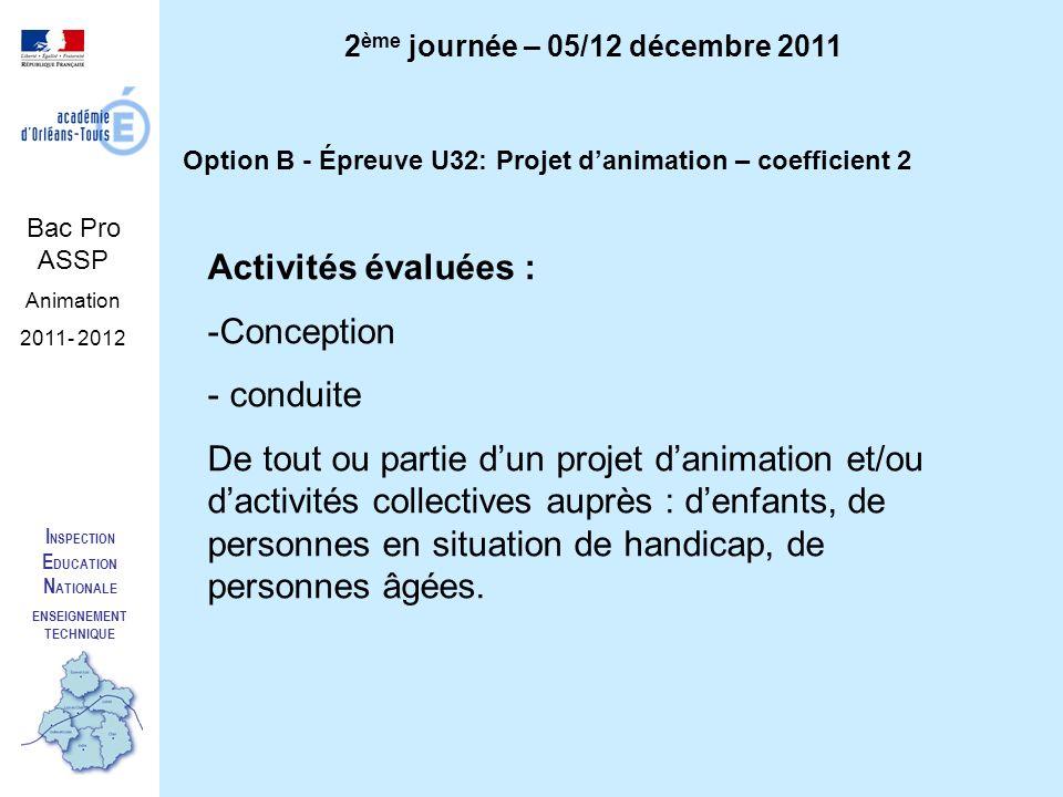 2ème journée – 05/12 décembre 2011 ENSEIGNEMENT TECHNIQUE