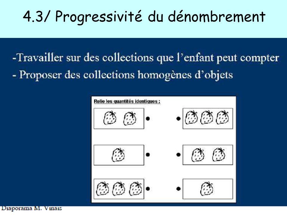 4.3/ Progressivité du dénombrement